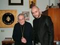 Con il Card. Loris Francesco Capovilla, 03.01.2014