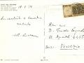 Cartolina datata 18 agosto 1978 spedita dal Card. Albino Luciani otto giorni prima di diventare Papa.