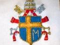 Particolare dello stemma della Mitria