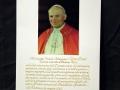 Autografo di Giovanni Paolo II al vescovo Mons. Maffeo Ducoli artefice dei soggiorni del Papa in Veneto