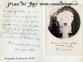 Autografo di Giovanni XXIII a don Emilio Suman