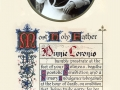 Autografo del Card. Pietro Gasparri