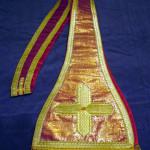 Stola utilizzata da Leone XIII, donata dai cittadini di Carpineto Romano a San Giovanni XXIII e da lui indossata