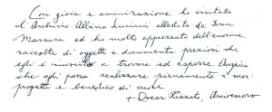 Arcivescovo Oscar Rizzato, Elemosiniere Emerito