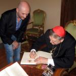 10.06.2014 - Con il Card. Raymond Leo Burke, Prefetto della Suprema Signatura Apostolica